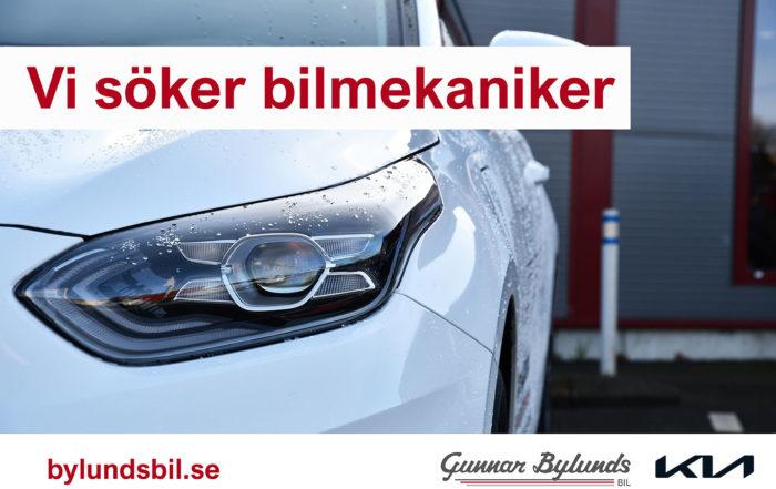 Bylunds Bil i Asaum har ett bilmekaniker jobb tillgänglig